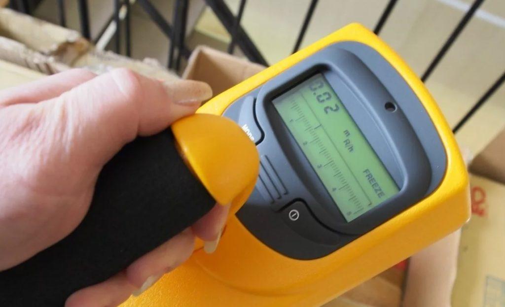 Измерение радиации в доме