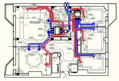 Проектирование, составление проектов вентиляции, проектирование систем вентиляции в Самаре