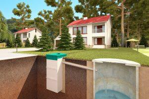 Автономная канализация,сточные воды,сооружение,канализация Самара