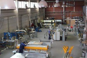 Вентиляция производства. Проектирование, монтаж, установка вентиляционных систем в Самаре. Вентиляции на производственные предприятия.